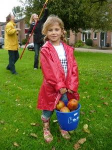 Eetbaar Houten Appels plukken is leuk